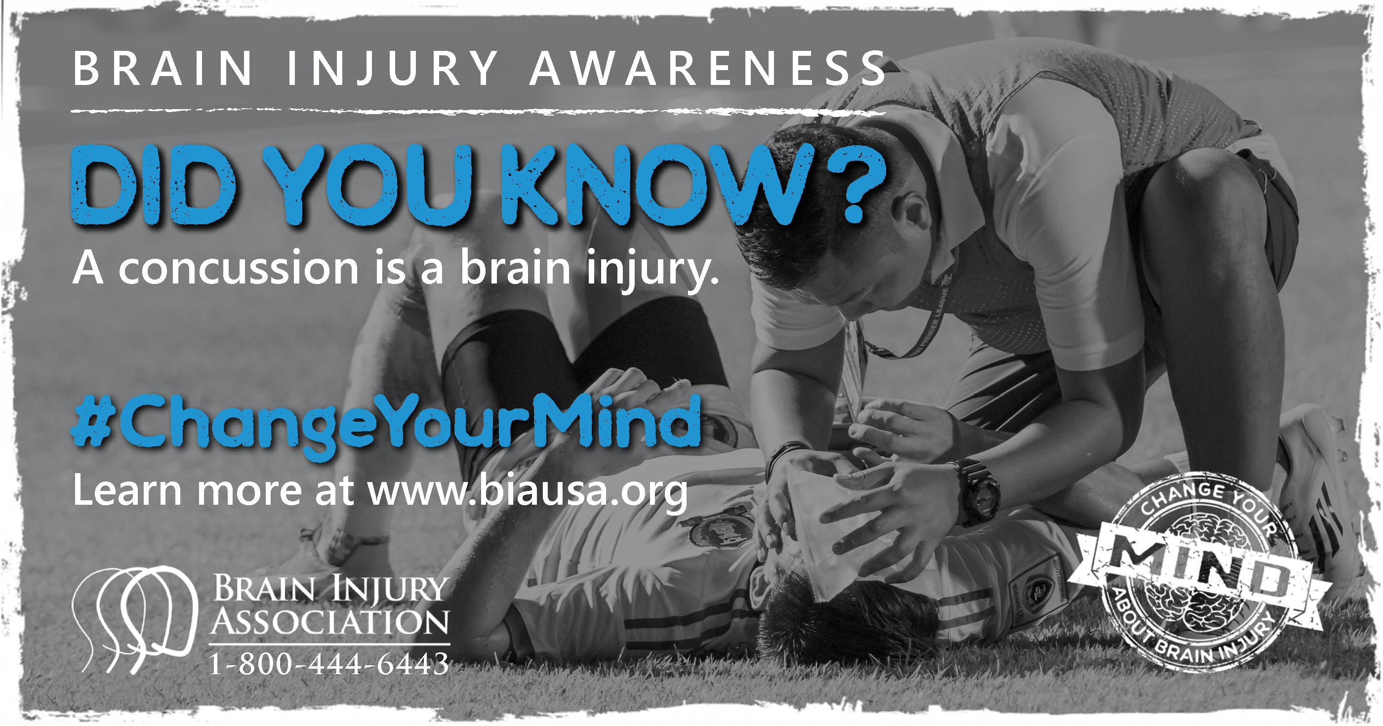 A Concussion is a Brain Injury