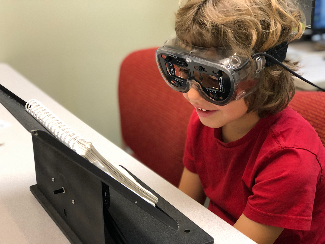 Special Tree Adds Visagraph to Robust Vision Therapy Program for Brain Injury Rehabilitation