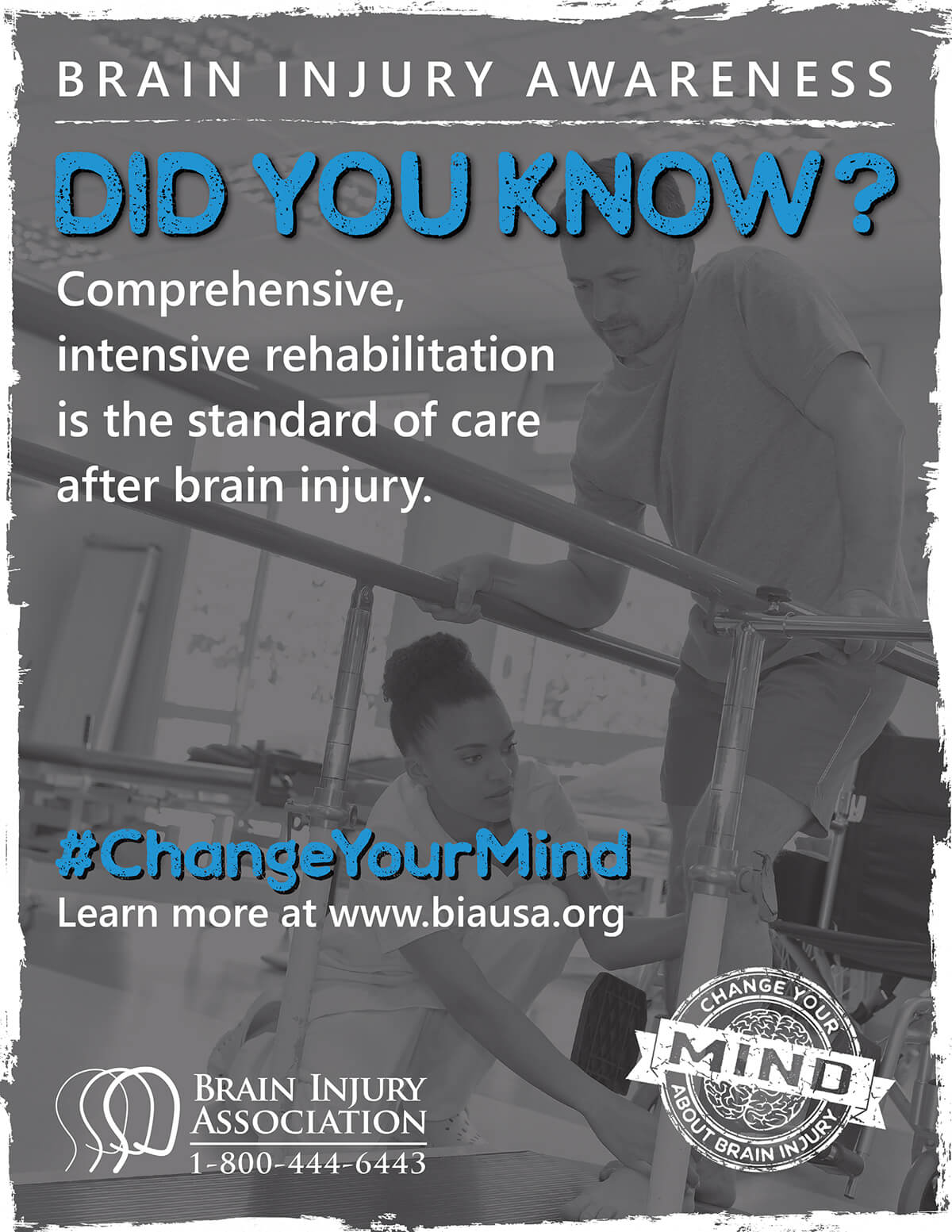 #ChangeYourMind Awareness Campaign: Rehabilitation Download Preview