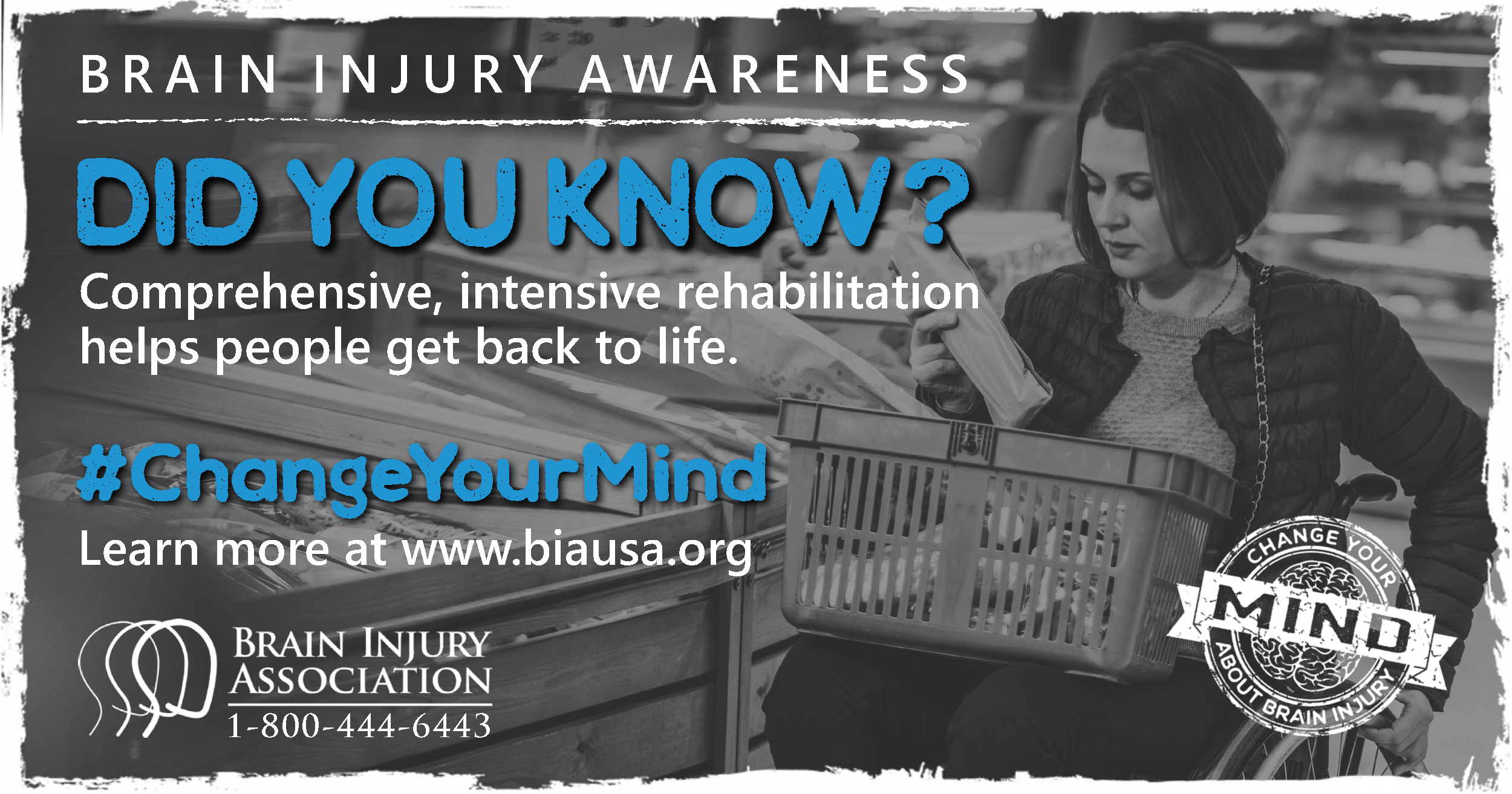 Comprehensive, intensive rehabilitation helps people get back to life after brain injury.