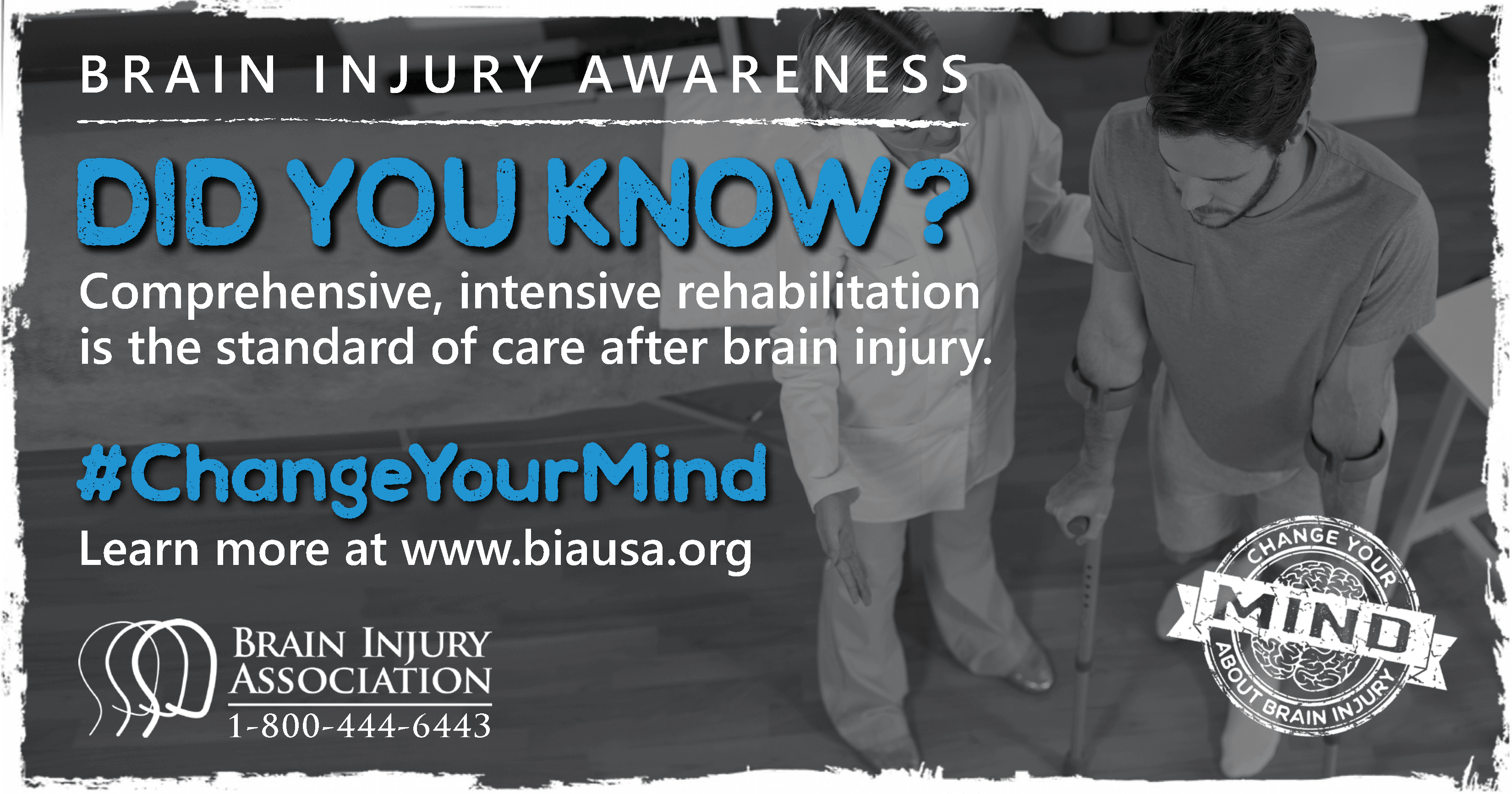 Comprehensive, intensive rehabilitation is the standard of care after brain injury.
