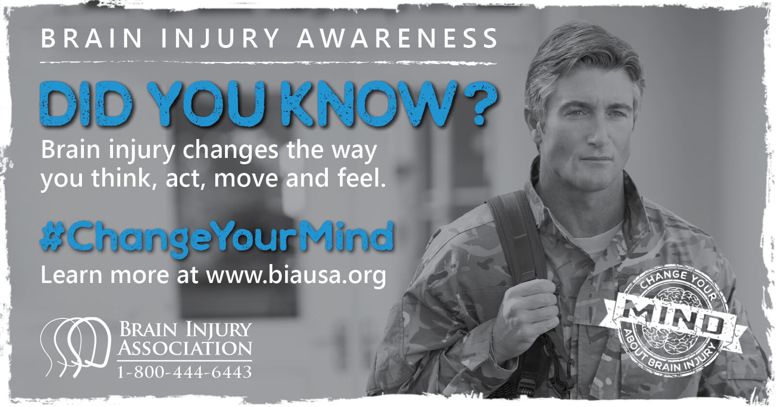 Brain injury changes the way you think, move, act, and feel.