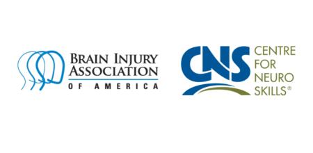 Brain Injury Association of America Logo and Centre for Neuro Skills Logo
