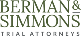 Berman and Simmons Trial Attorneys Logo