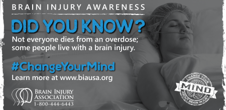 #ChangeYourMind Awareness Campaign: Opioid Overdose