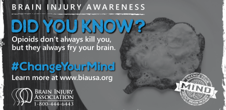 #ChangeYourMind Awareness Campaign: Fry Your Brain