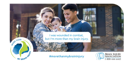 #MoreThanMyBrainInjury Awareness Campaign: Combat
